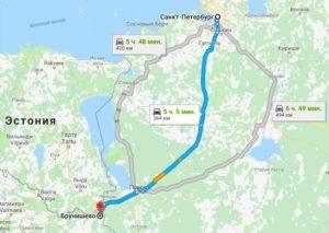 где лучше пересекать границу с Латвией на машине 2