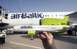Авиационный транспорт в Латвии
