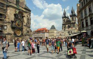 Проживание украинцев в Чехии