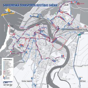 Городские маршруты в Вентспилсе