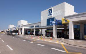 Международные аэропорты на материковой части Греции