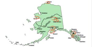 Лучшие места для проживания на Аляске