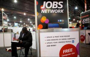 Общий уровень безработицы в Америке