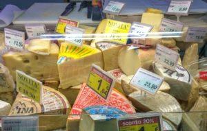 цены на продукты питания в Италии