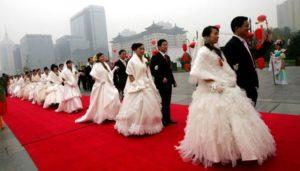 Обычаи китайской свадьбы