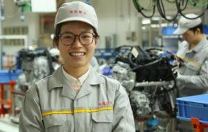 Работа на заводе в Шанхае