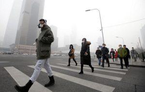 качество воздуха в Шанхае