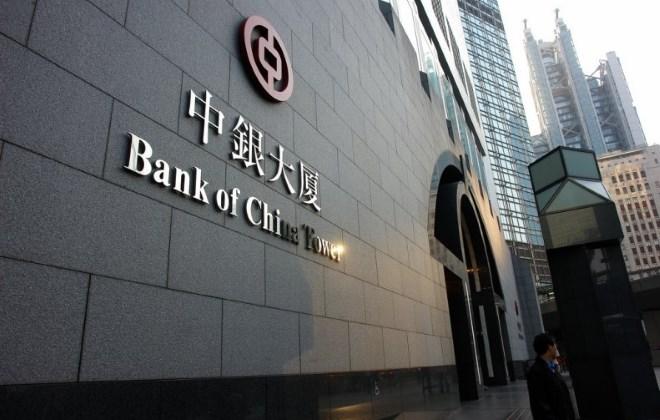 банки в Китае