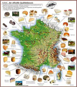 какой сыр привезти из Франции