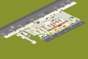 Зона прибытия аэропорта имени Сабихи Гекчен