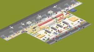 Зона отправления аэропорта имени Сабихи Гекчен