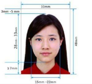 Фото на студенческую визу в Китай