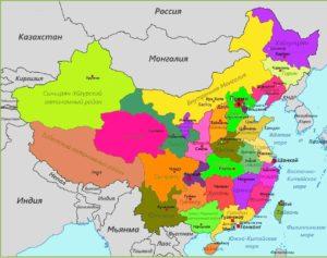 регионы и города Китая привлекательные для граждан из Украины, Беларуси, РФ