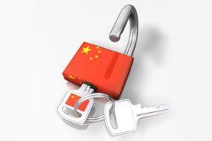 Заблокированные в КНР ресурсы