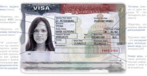 Как проверить ошибки в визе в США