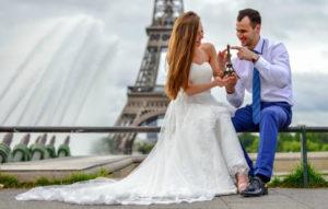 cвадьба в Париже
