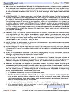Основные требования к оформлению договора купли/продажи 2