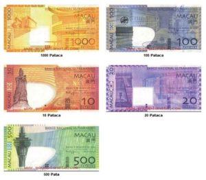 Внешний вид национальной валюты Макао
