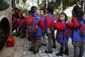 дошкольное воспитание в Китае