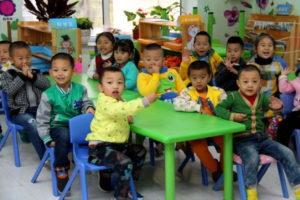 Детские образовательные учреждения в Китае