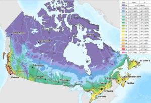 климатические особенности Канады