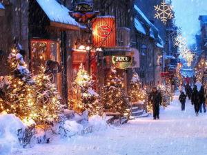 средняя температура в Канаде зимой
