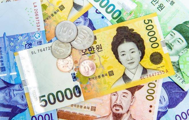 Национальная валюта Кореи