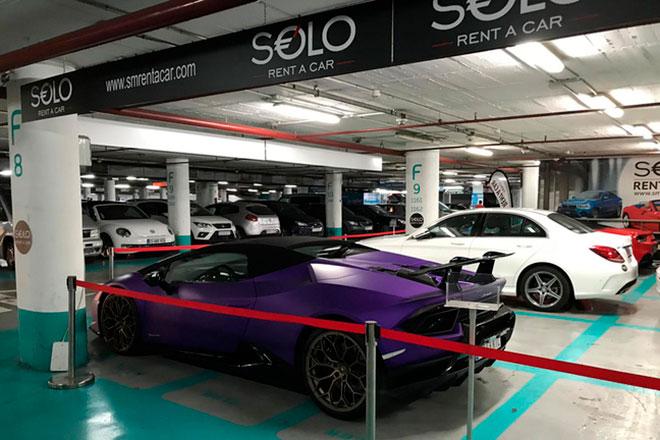 Аренда спортивных автомобилей в Испании