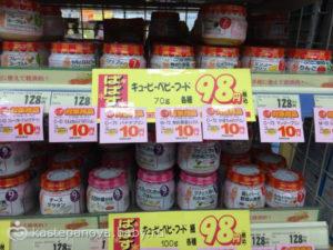 Цены на детское питание