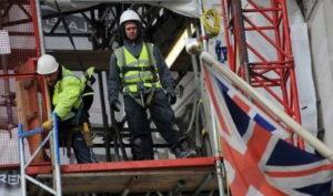 занятость населения Великобритании