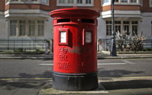как отследить посылку из Англии