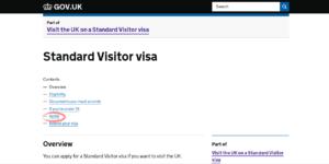Оформление визы в Великобританию шаг 3
