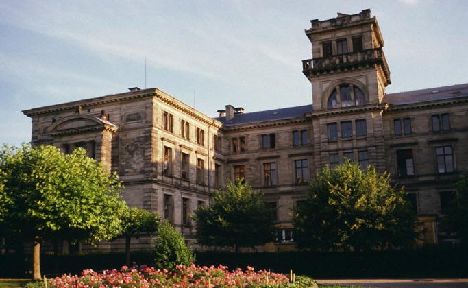Одно из зданий Страсбургского университета