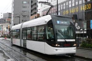 Трамвай в Японии