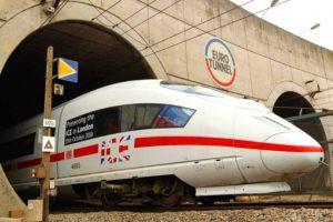 поезд из Франции в Англию