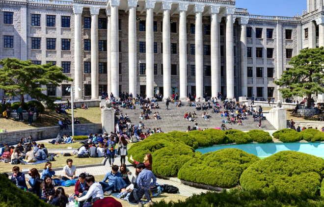 Обучение в университетах Южной Кореи
