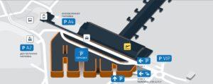 Забронировать парковку в аэропорту Таллина