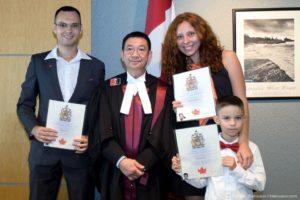 Церемония получения паспорта