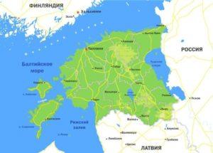 Климатические и экологические условия в Эстонии