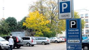 частные парковки в Таллине