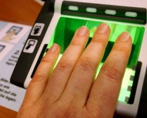Сдача биометрических данных на визу