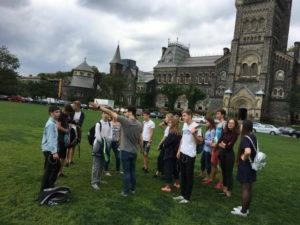 студенты университета Торонто