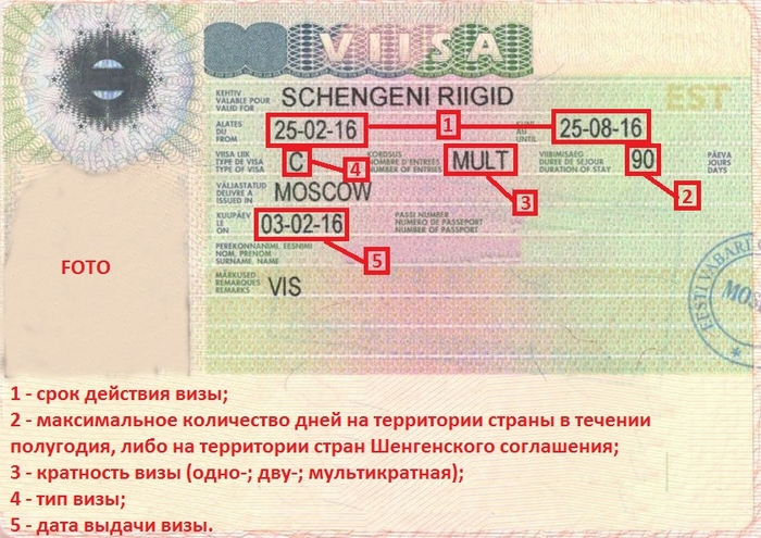 Шенгенская виза тип С