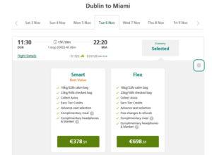 Как приобрести билеты на рейс Aer Lingus на сайте компании 5