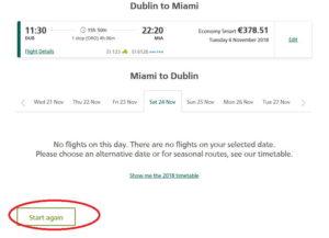Как приобрести билеты на рейс Aer Lingus на сайте компании 6