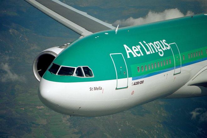 Ирландская авиакомпания Aer Lingus