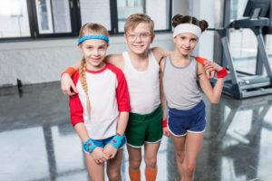 Уроки физкультуры в польской школе