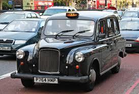 Black cab - такси в Лондоне