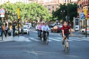 Виды велосипедных дорожек и парковок в Испании