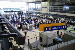 онлайн-табло аэропорта Лос-Анджелеса